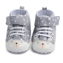 2018 New Cartoon Rabbit  Baby Casual Shoes Cute Baby Fashion Sneakers Four Season Unisex Baby Toddler Shoes 0775