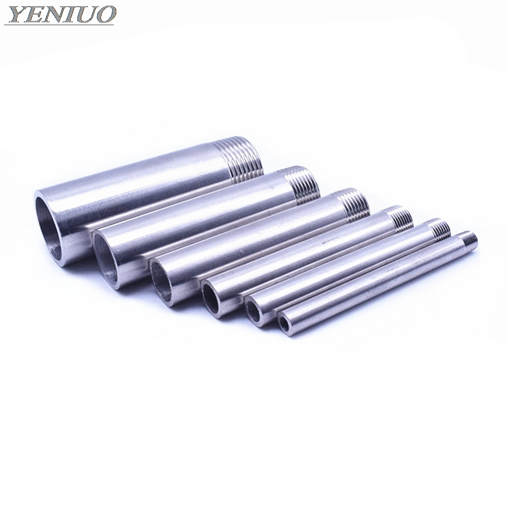 SS 304 Stainless Steel 100mm Length Water Connection 1/4