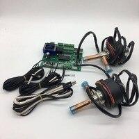 Двойной 0.43m 3/h EEVs с 8 сенсорами и контроллером superheat хороший выбор  так как расширительные клапаны в 3 в 1 тепловой насос охладители воды