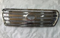 eOsuns Front Bumper Grill Grille for  Toyota Land Cruiser LC200 4000 4600 5700 2012-2015