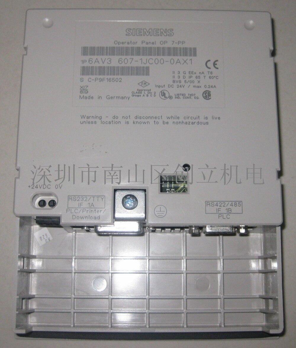 Membrane keypad for 6AV3607-1JC00-0AX1 6AV3 607-1JC00-0AX1 OP7//PP