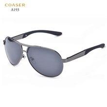 726f6bc23a COASER Polaroid Lente Polarizada Óculos De Sol Dos Homens Marca Original HD  Google Óculos de Revestimento Reflexivo óculos de Co.