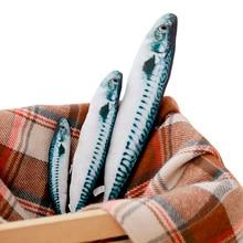 Моделирование скумбрия Животные Мягкие плюшевые игрушки подушка-рыба кукла Дети кошки игрушка для детей Девочки Мальчики День рождения рождественские подарки