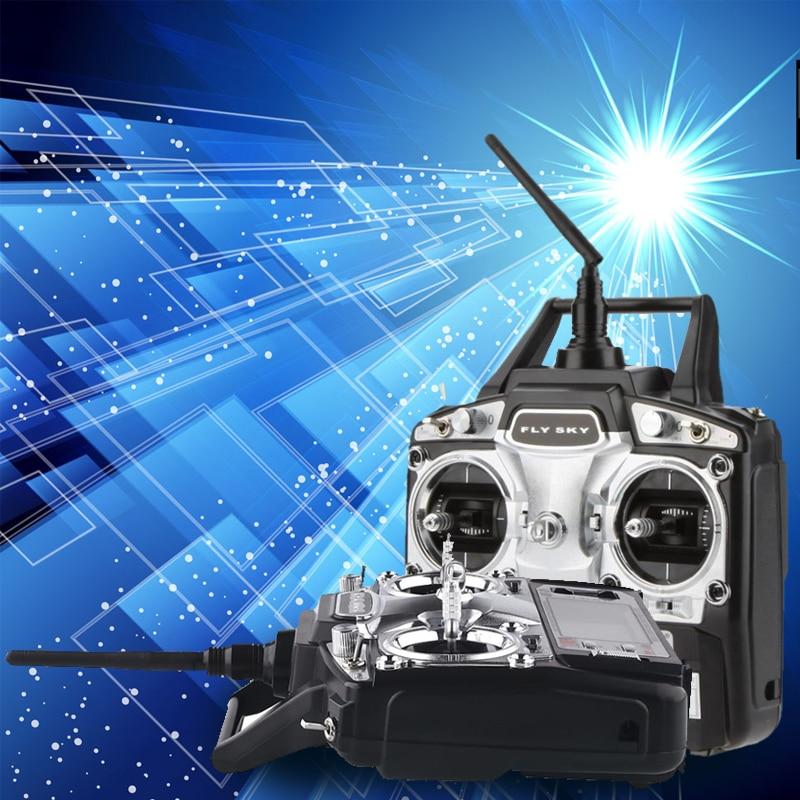 FlySky FS-T6 6CH RC Transmitter Controller FS-R6B RC Radio Control Drone hermle настенные часы hermle 70444 030341 коллекция