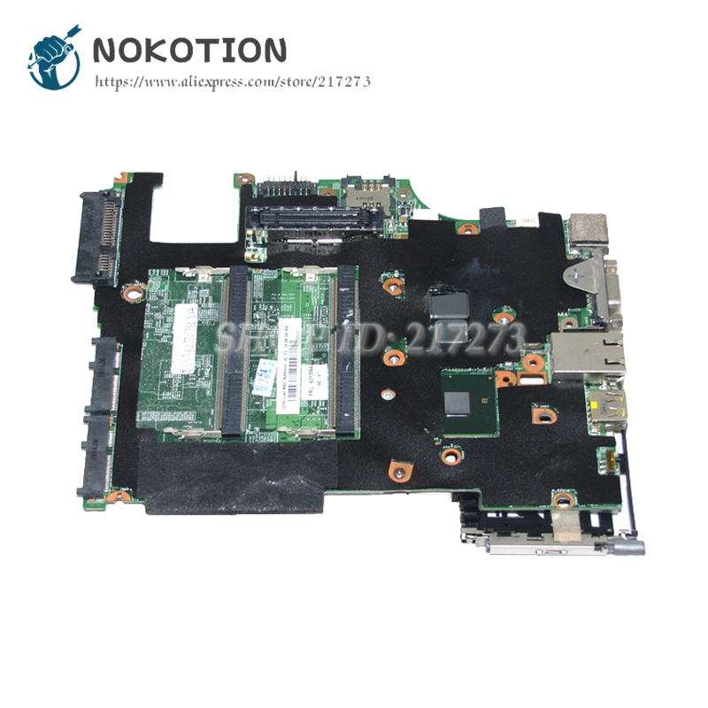 NOKOTION For Lenovo Thinkpad X201 Laptop Motherboard 63Y2064 MAIN BOARD I5-540M CPU DDR3 цены