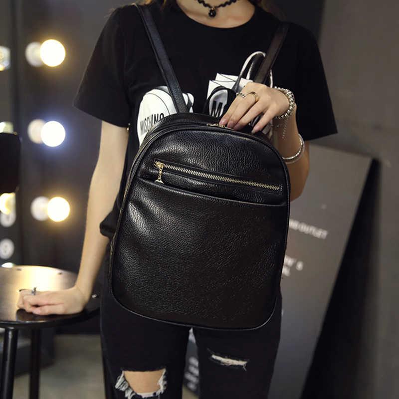 2018 модный рюкзак из искусственной кожи в европейском стиле, хит продаж, школьная сумка для девочек-подростков, повседневный дорожный рюкзак для шоппинга WUJ0393
