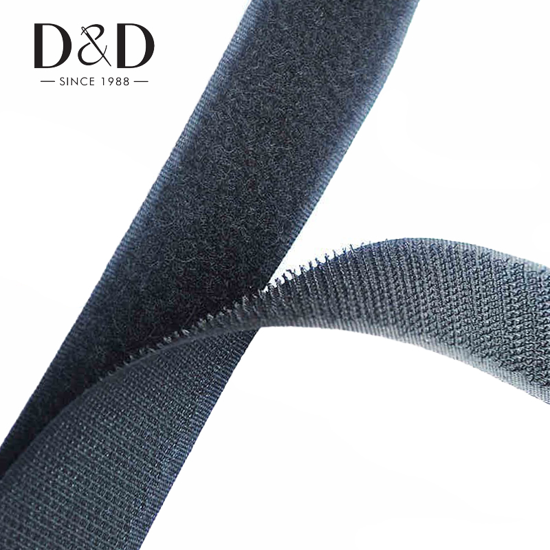 High Quality 2cmx2m Nylon Sew-on Magic Fastener Tape DIY Sewing Supplies Accessories White/Black Wholesale