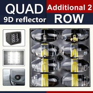 Image 2 - CO LIGHT 9D 80W 자동차 Led 라이트 바 3 인치 작업 빛 홍수 Led 빔 DRL 12V 24V Lada 트랙터 보트 4x4 트럭 SUV ATV 안개 램프