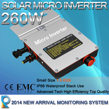 Reliable Waterproof Inverter 260Watt Micro Grid Tie Inverter Solar Grid Tie Inverter