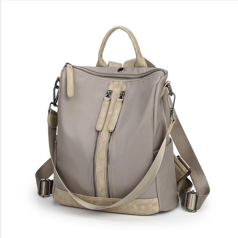 Brand Women Bags Real Cowhide Genuine Leather Women's Backpacks Ladies Travel School Bags For Girls Kanken Backpack 2019 C278