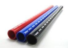 Manguera recta de silicona de 4 capas 76mm/80mm/83mm/85mm, 1 metro de longitud, tubo conector de intercooler, tubería de admisión de aire, manguera de agua
