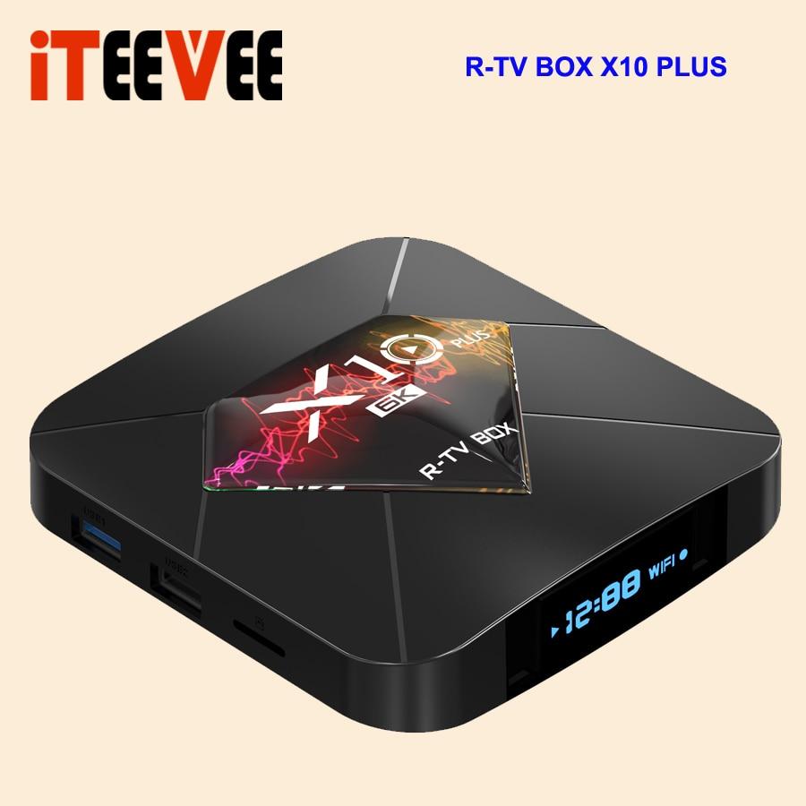 R TV pudełko X10 Plus Android 9.0 smart TV BOX Allwinner H6 2.4G WiFi 4 GB + 32/64 GB set top box USB 3.0 6 K H.265 smart media 3 sztuk w Dekodery STB od Elektronika użytkowa na  Grupa 1