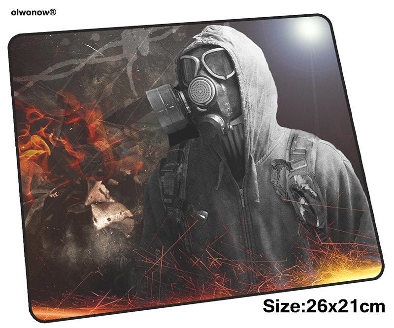 Stalker Mousepad 26x21cm Gaming Mouse Pad Big Gamer Mat Cute Game Computer Desk Padmouse Keyboard Mass Pattern Play Mats