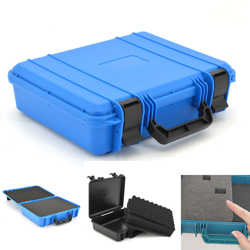 Toolbox Protective safety Tool Box Equipment Instrument Camera Box Shockproof Sealed Plastic Storage Tool Case With