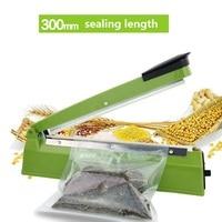 300mm 220V IMPULSE SEALER Heat Sealing Machine Impulse bag Sealer Seal Machine Poly Tubing Plastic Bag Sealer Kit kitchen