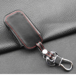 Image 4 - jingyuqin New A93 Leather Case For Starline A93 A63 Car alarm Remote Controller LCD Keychain Cover