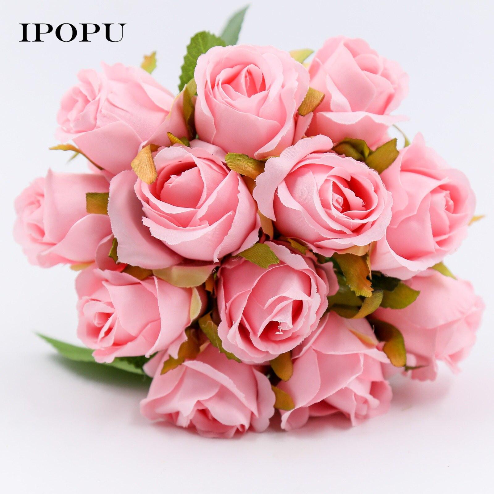 Online Shop Artificial Fake Silk Flower Hydrangea Wedding Decor ...