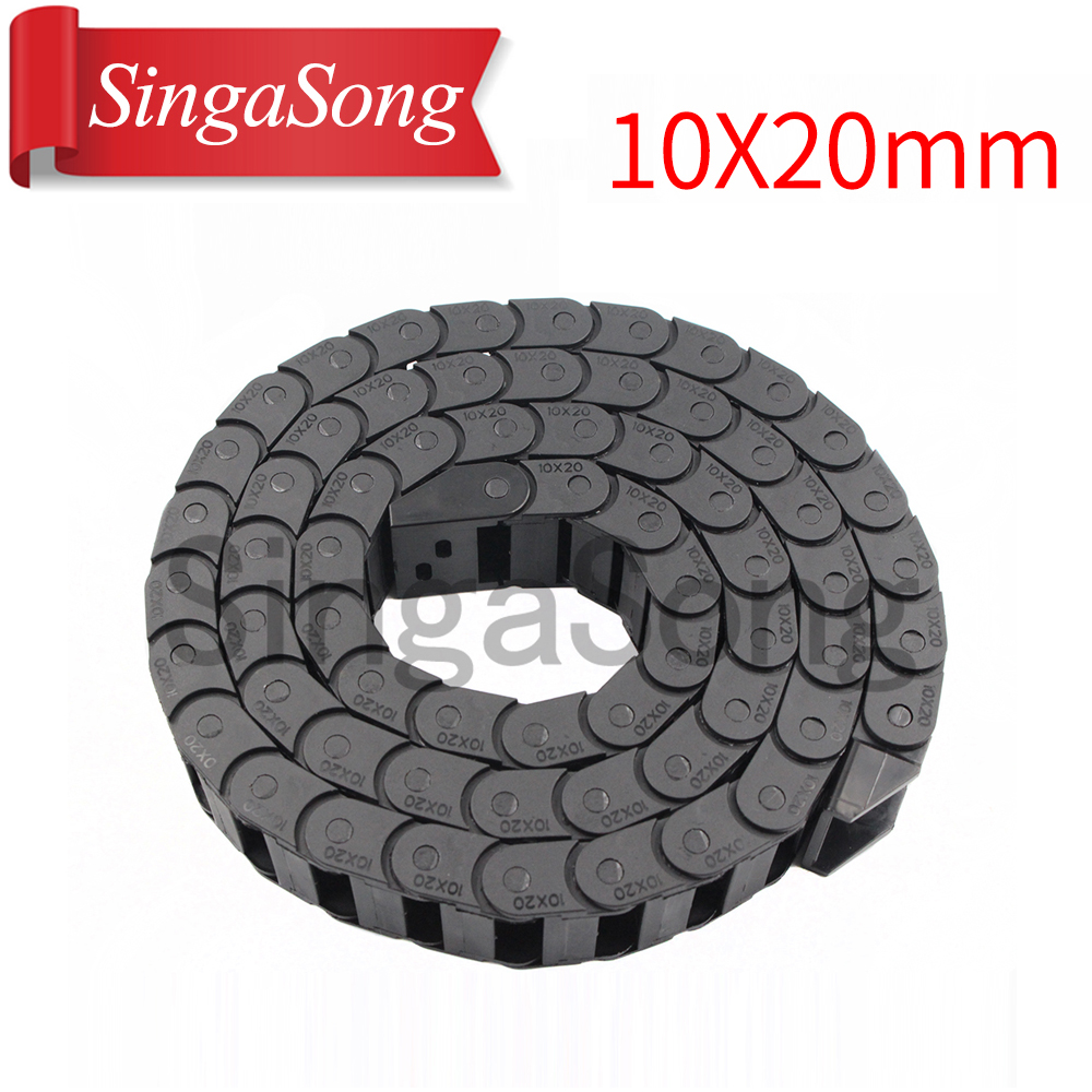 10-x-20mm-10-20mm-l1000mm-cable-drag-chain-wire-carrier-with-end-connectors-for-cnc-router-machine-tools