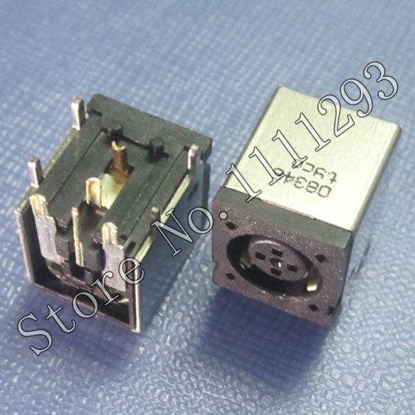 10 Stks/partij Dc Power Jack Socket Connector Voor Dell Vostro 1510 1520 V1510 V1520 Precisie M20 M60 M65 M2300 M4300 M6300 Etc Koop Altijd Goed