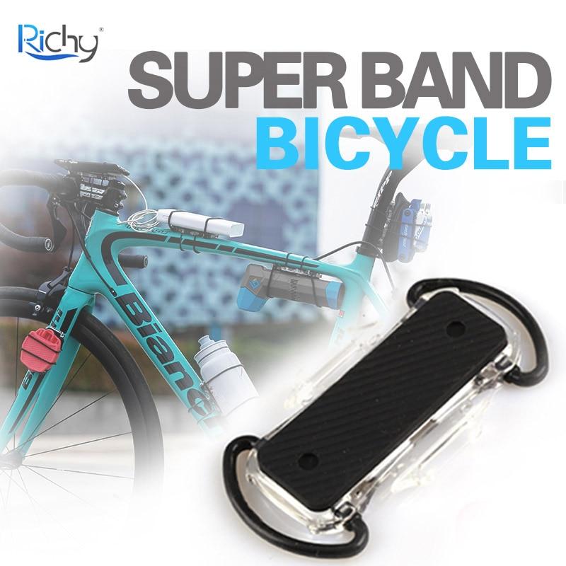 Portabidon Ciclismo Multifunctional Binding Plate Bisiklet Aksesuar Shockproof Bidonhouder Water Bottle Cage Cycling Super Band
