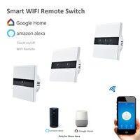 EU Type EWelink 1 Gang 2 Gang 3 Gang Wifi Control Switch Wireless Control Light Touch