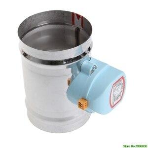 """Image 5 - Электрический Соленоидный клапан из нержавеющей стали, 4 """"220 В переменного тока, демпфер, плотный пар воды"""