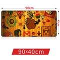90*40 см Фрукты Кофе Graffit Лаванды резиновый коврик для мыши L XL Супер Большой 90 см коврики для игр геймер Механической клавиатуры мат