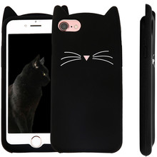 Здесь можно купить  IMIDO Phone Cases For iPhone 5s 5 SE Case For iPhone 6 6S 7 8 7/8 Plus fashion lovely Cat ear phone case shockproof Drop
