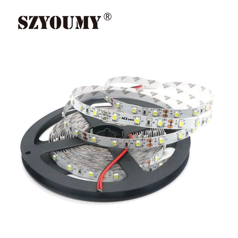SZYOUMY SMD 3528 5M 300leds Warm white Cool white LED Strip 60led m Non waterproof Led