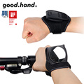 Good.hand Ride Bicycle Bike Rear View Vision Wrist Guards with Built-in Back Mirror Cycling safety Reflective Wristband Mirror