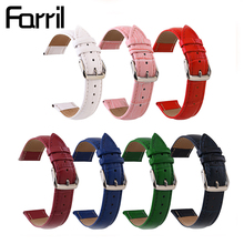 Colorful Watch Bracelet Belt Mens Womens Band Watchbands Strap 18mm 20mm 22mm Accessories Wristband Leather