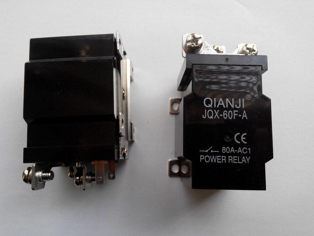 QIANJI JQX-60F-A 1Z 80A DC12V Silver ContactsQIANJI JQX-60F-A 1Z 80A DC12V Silver Contacts