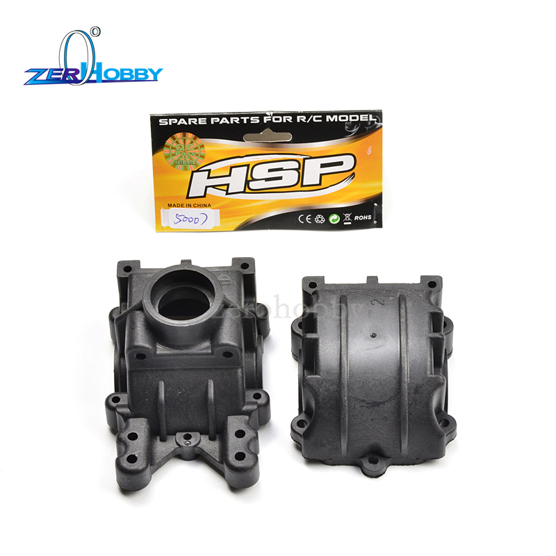HSP RACING SPARE PARTS ACCESSORIES 50007 GEAR BOX FOR HSP 1/5 RC CARS hsp 62021 center dogbone f 1 8 scale models spare parts for rc model cars himoto 94762