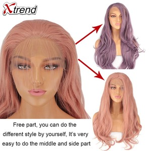 Image 2 - Perruque Lace Front Wig synthétique longue Xtrend