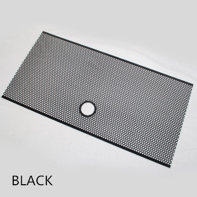 Free Shipping Grille Mesh Cover Grid Bug Screen Gorras Rejilla for Jeep Wrangler JK Black Silver Red Colors with Keyhole 4X4