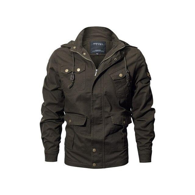 RIINR Для мужчин; повседневные куртки весна отдыха и путешествий Для мужчин s куртки и пальто Демисезонный мужской ветровка Militar Chaqueta