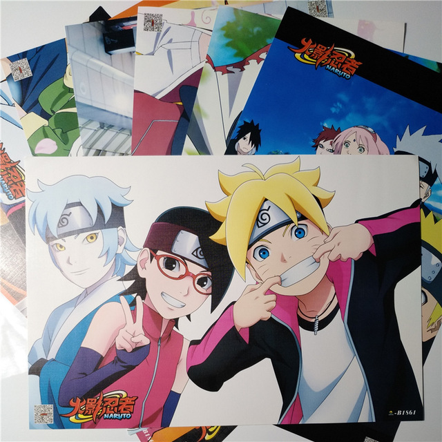 8*(42x29cm)BORUTO / Naruto posters Anime posters Wall Stickers