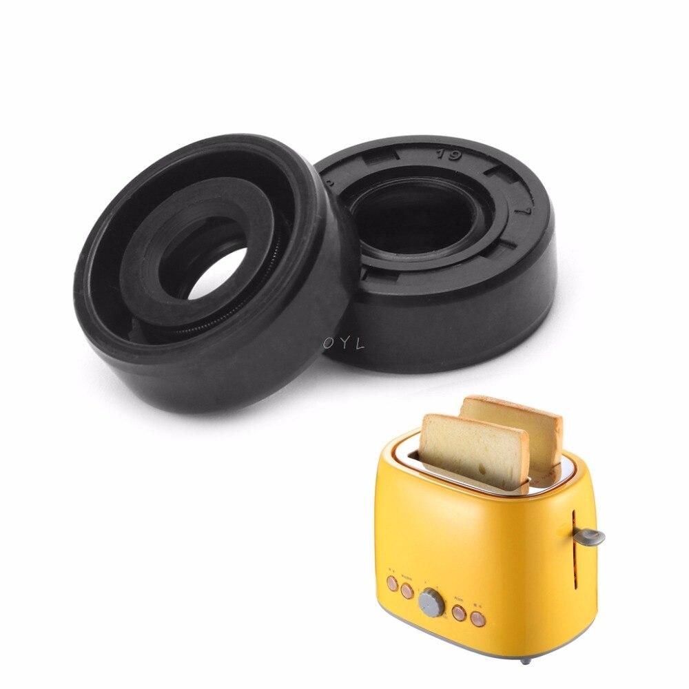 2pcs/set 8x19x7mm Wearable Breadmaker Sorbet Machine Blender Repair Parts Oil Seal Ring