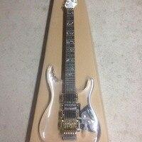 Electric Guitar/Acrylic Blue Lamp Guitar/Anmiyue Chinese Guitar
