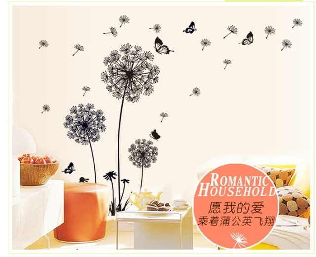 Butterfly Flying Wall Stickers