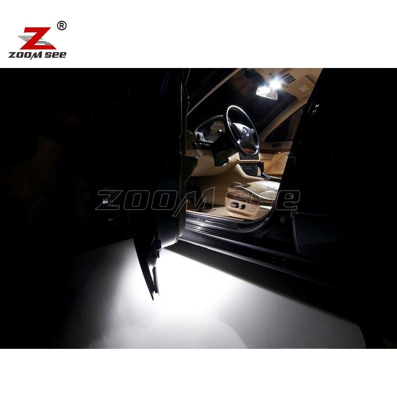 21pcs LED notranja svetilka + svetilka registrske tablice za BMW E39 - Avtomobilske luči - Fotografija 4