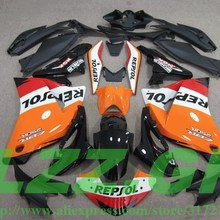 Injection Mold Cbr 250 Fairings for 11-12 250RR Orange LZZ.GP
