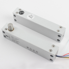 Houten deur poort lagere temp solenoid bolt lock elektrische nachtslot voor deur toegangscontrole fail safe