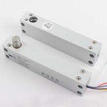 ไม้ประตูล่างอุณหภูมิ solenoid bolt ล็อคไฟฟ้าล็อคสำหรับควบคุมประตู fail safe