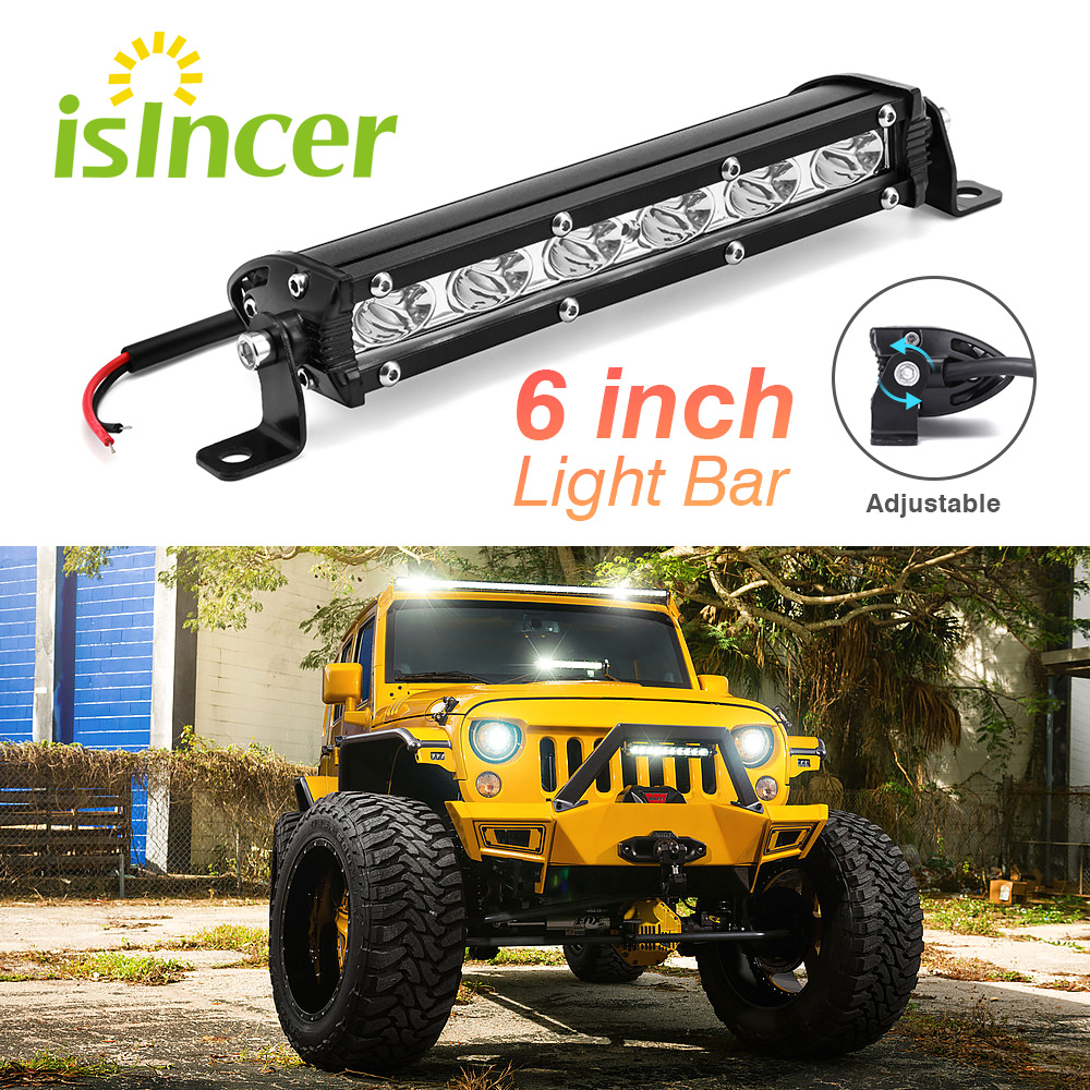 Led Beams 6 inch 18W LED Car Work Light Bar Spotlight Offroad Fog Lamp Vehicle 18w Work Lamp LED 12V Work Light Car Styling auxting 10x 18w spot light flood lamp driving fog led work light bar offroad led work car light for jeep suv 4wd led beams 12v