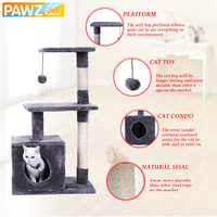 Domestic Delivery Cat Climbing Trestle Cat Scratcher Tree Jumping Furniture Ball Cat Playing Pet Product Wholesale High Quality