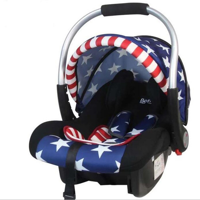 Truck-Mounted Infant Child Car Safe Seat Basket 0--15 Months Baby Cradle Seats Free Drop Ship By EMS