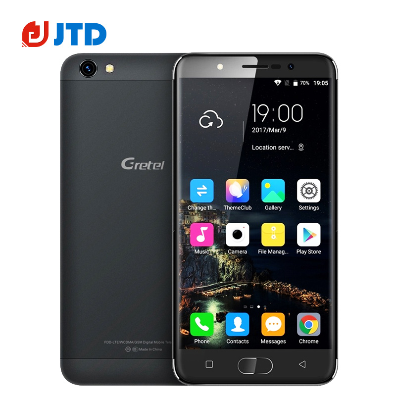 Цена за Новый ГРЕТЕЛЬ A9 Quad Core Android Смартфон 6.0 MT6737 2 ГБ RAM 16 ГБ ROM 5.0 IPS 8MP Вспышка Света 2300 мАч ''1280x720 4 Г мобильный телефон