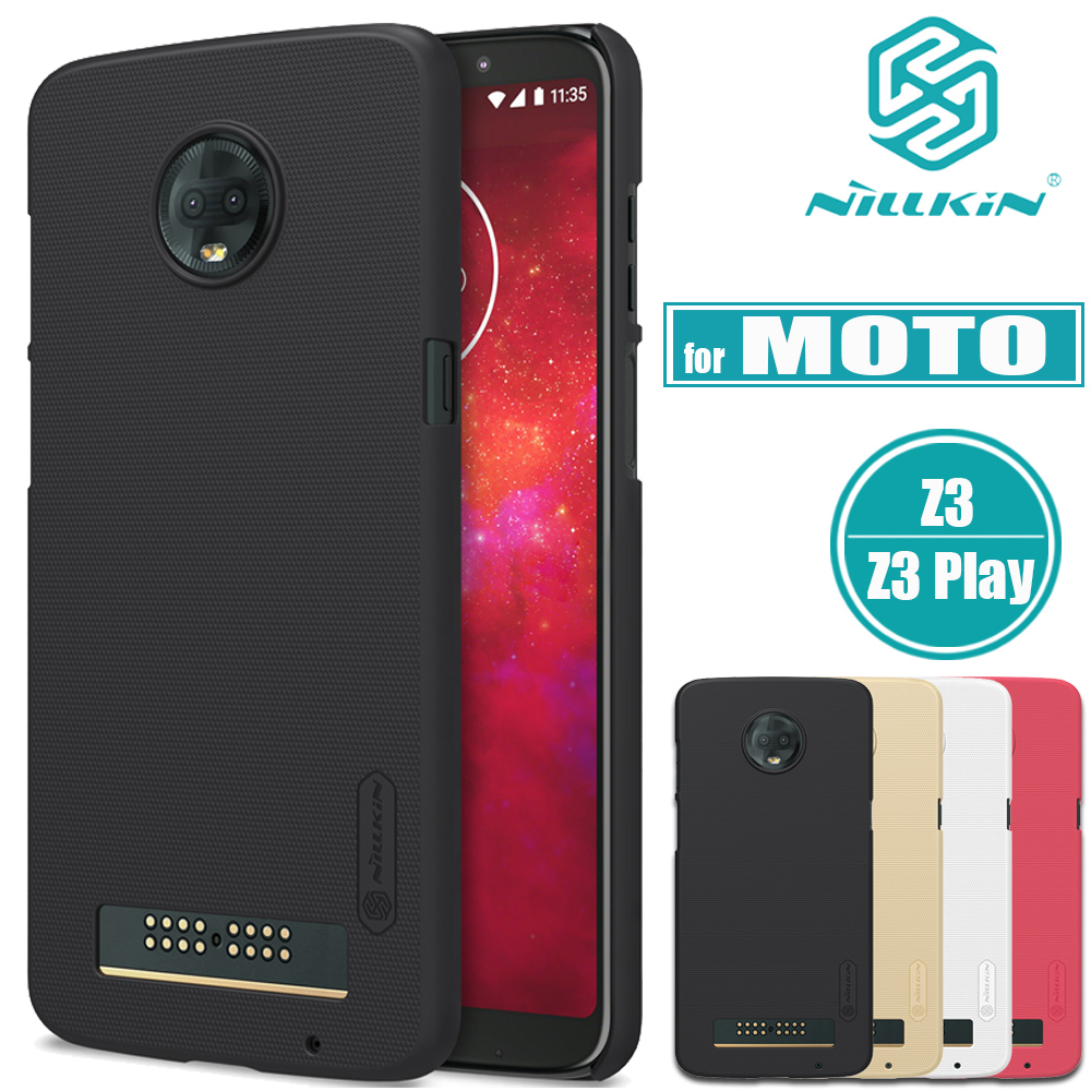 info for 48e52 acb40 US $8.88 |for MOTO Z3 Play Case Nillkin Frosted Shield Matte Hard PC  Plastic Phone Back Cover for Motorola Moto Z3 Cases Nilkin-in Flip Cases  from ...