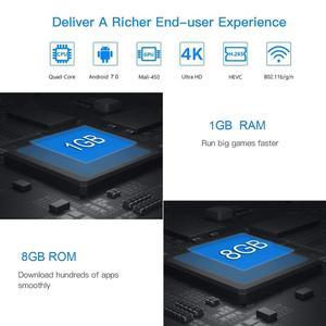 Image 5 - Vmade V96S H3 HD Android tv BOX Android 7,0 caja de tv inteligente Allwinner H3 четырехъядерный WiFi IP tv twitter телеприставка 1 Гб + 8 Гб